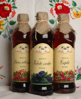 Red currant syrup