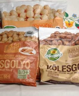 Milletballs lightly salted 60g