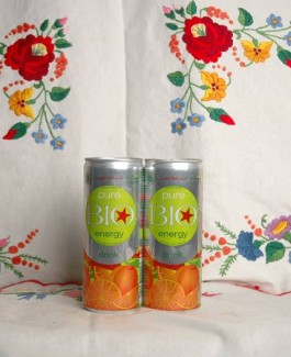 Bio energy drink orange 0.25l