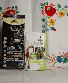 Organic coffee Alca Nero