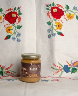 Organic peanut cream
