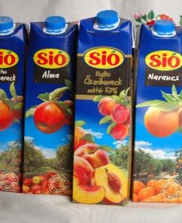 Sio pulp peach nectar 1l 50%