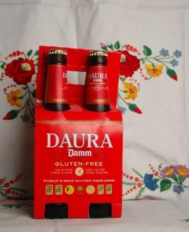 Daura Damm gluten-free beer / bottle